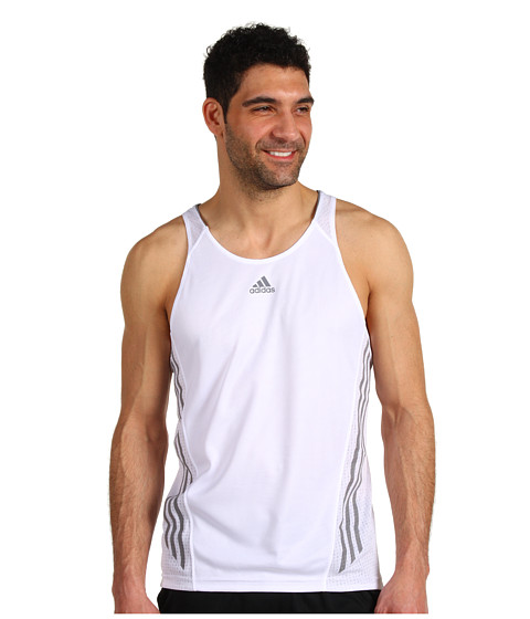 Tricouri adidas - supernovaâ⢠Singlet - White/Tech Grey