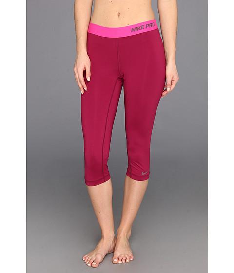 Pantaloni Nike - Pro Core II Compression Capri - Raspberry Red/Purple Shade
