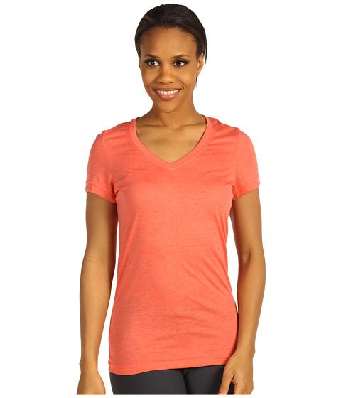 Tricouri Nike - Loose Tri-Blend Tee - Wild Mango Heather/Red Reef