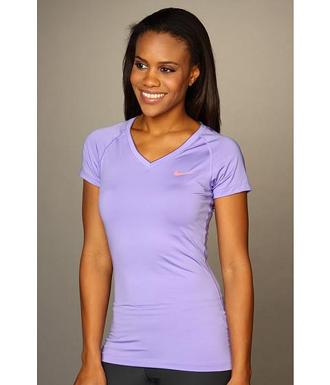 Tricouri Nike - Pro Core II Fitted Shirt - Medium Violet/Bright Peach