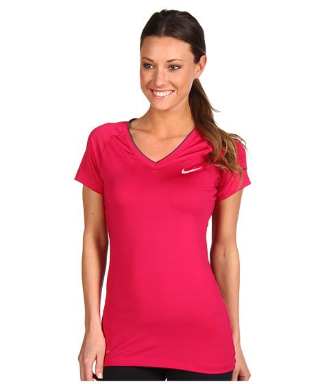 Tricouri Nike - Pro Core II Fitted Shirt - Sport Fuchsia/Polarized Pink
