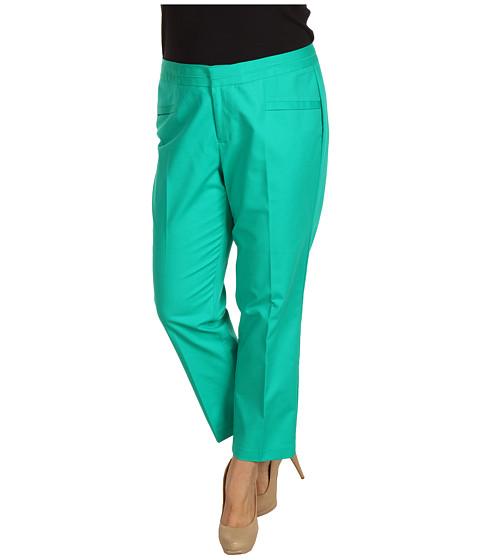 Pantaloni Calvin Klein - Plus Size Slant Pocket Pant W2BL0264 - Caribbean