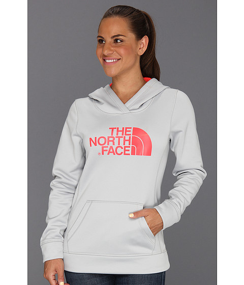 Bluze The North Face - Fave-Our-Ite Pullover Hoodie - High Rise Grey/Rocket Red