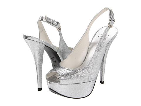 Pantofi Stuart Weitzman - Vevey - Silver Mini Glitter