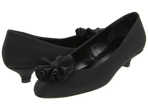 Pantofi Vaneli - Raya - Black Nuvola Fab/Black Satin