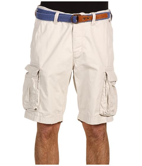 Pantaloni Scotch & Soda - Classic Cargo Short w/ Belt - White