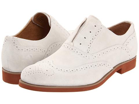 Pantofi Florsheim - No String Wing - White Suede