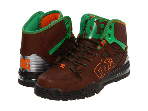 Adidasi DC - Versatile Hi WR - Brown/Orange/Green