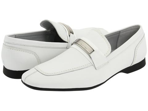 Pantofi Calvin Klein - Sean - White Dress Calf