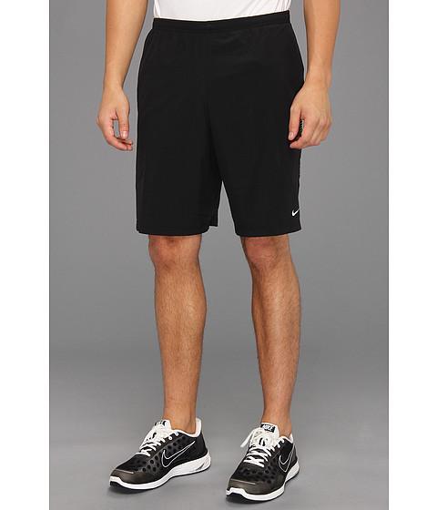 Pantaloni Nike - 9 inch Running Short - Black/Black/Volt/Reflective Silver
