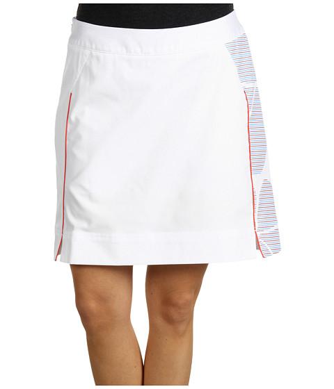 Pantaloni adidas Golf - ClimaCool Ashbury Print Skort - White/Lucy/Cosmic Blue