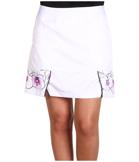 Pantaloni adidas Golf - ClimaCool Orchid Print Skort - White/White/Hibiscus