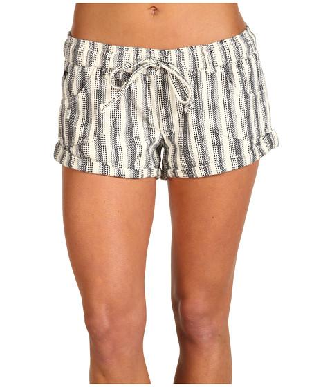 Pantaloni Roxy - Shore Short 2 - Black and Natural Stripe