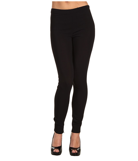 Pantaloni Moschino - Legging With Cuffed Hem - Black