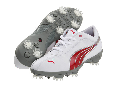 Adidasi PUMA - PG Tallula Women - White/Puma Silver/Rouge Red