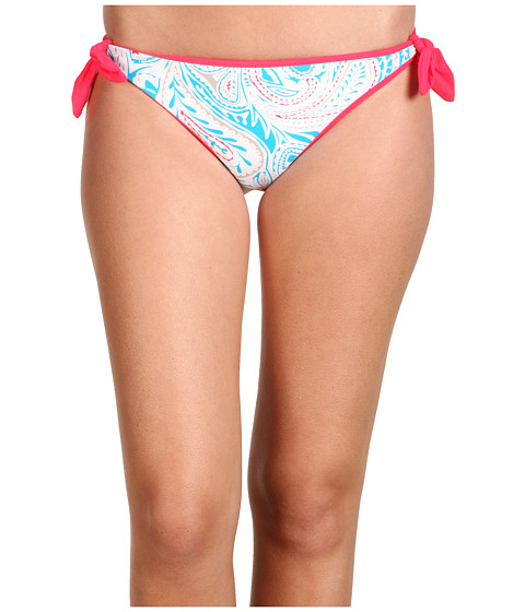 Special Vara Marc by Marc Jacobs - Mona Paisley Reversible Side Tie Bottom - Marshmellow/Slate Grey