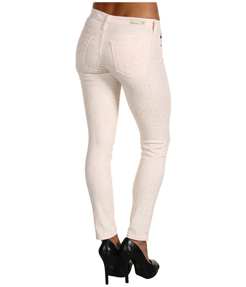 Pantaloni AG Adriano Goldschmied - The Legging Ankle Snake Twill - Snake Pink