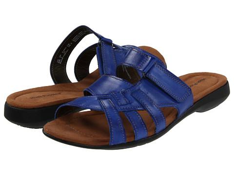 Sandale Hush Puppies - Delite Slide - Bright Blue Leather