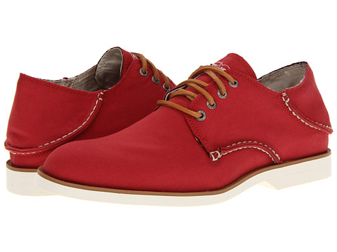 Pantofi Sperry Top-Sider - Boat Oxford - Red Canvas