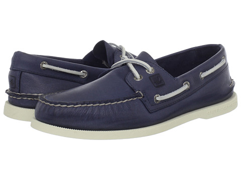 Pantofi Sperry Top-Sider - A/O 2-Eye Burnished - Blue 2