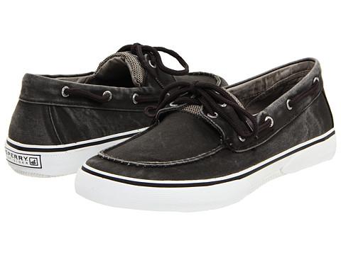Pantofi Sperry Top-Sider - Halyard 2-Eye - Salt Washed Black