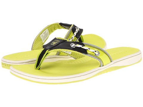 Sandale Sperry Top-Sider - Seafish - Black/Neon Yellow