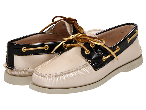Pantofi Sperry Top-Sider - A/O 2 Eye - Nude Patent/Black
