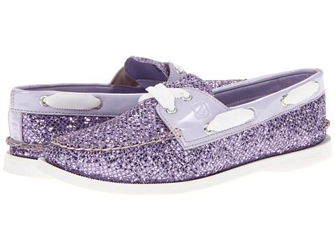 Pantofi Sperry Top-Sider - A/O 2 Eye - Purple Glitter/Patent