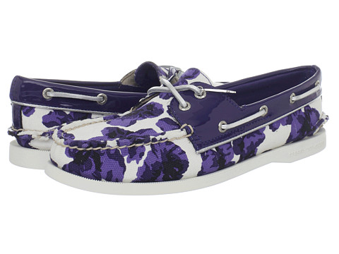Pantofi Sperry Top-Sider - A/O 2 Eye - Blue Milly/Floral Print/Blue Patent