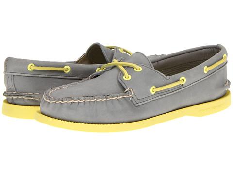 Pantofi Sperry Top-Sider - A/O 2 Eye - Charcoal (Yellow)
