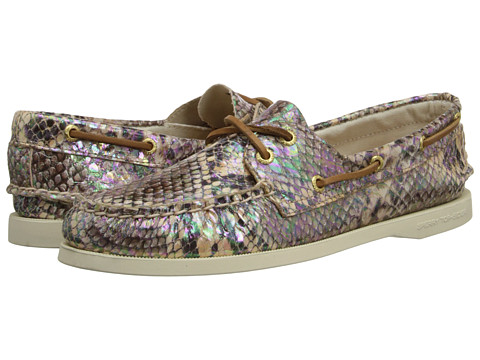 Pantofi Sperry Top-Sider - A/O 2 Eye - Natural Iridescent Python