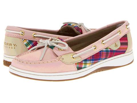 Pantofi Sperry Top-Sider - Angelfish - Light Rose/Plaid