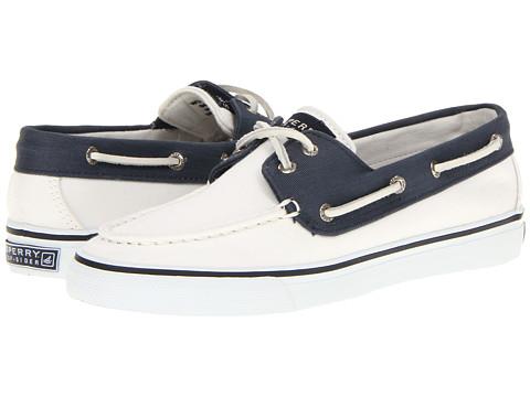 Pantofi Sperry Top-Sider - Bahama 2-Eye - White/Navy 2