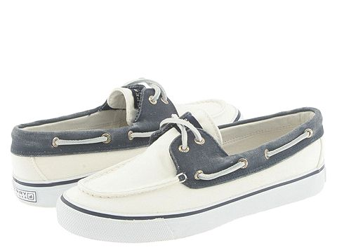 Pantofi Sperry Top-Sider - Bahama 2-Eye - White/Navy