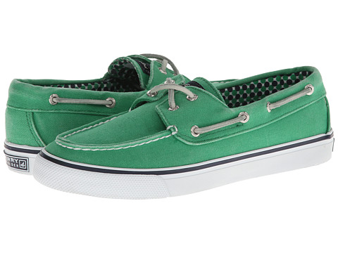 Pantofi Sperry Top-Sider - Bahama 2-Eye - Green Canvas