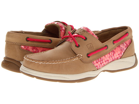 Pantofi Sperry Top-Sider - Intrepid - Linen/Peach Leopard