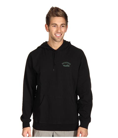 Bluze Patagonia - Hooded Monk Sweatshirt -  Heritage Block/Black
