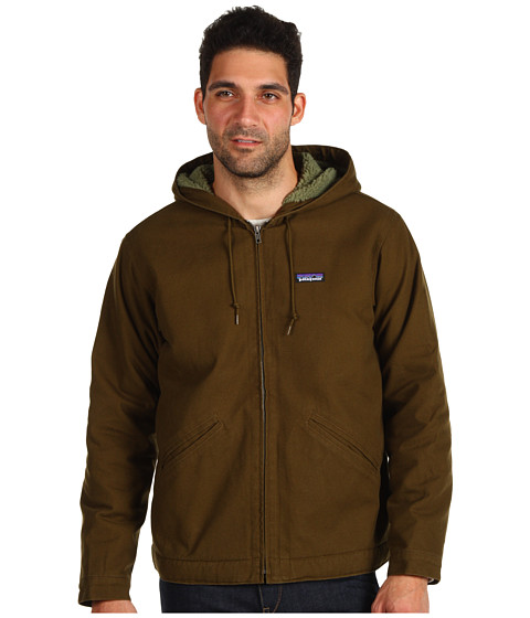 Jachete Patagonia - Lined Canvas Hoodie - Hickory