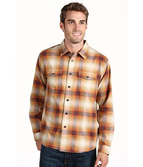 Camasi Patagonia - L/S Buckshot Shirt - Double Rainbow/Classic Tan