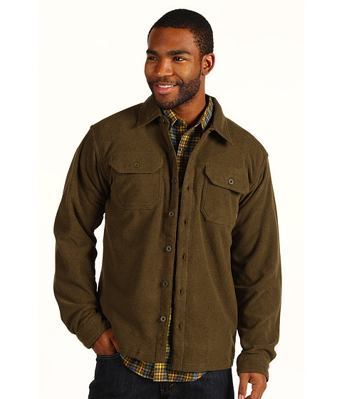 Camasi Patagonia - Pique Fleece Shirt - Hickory