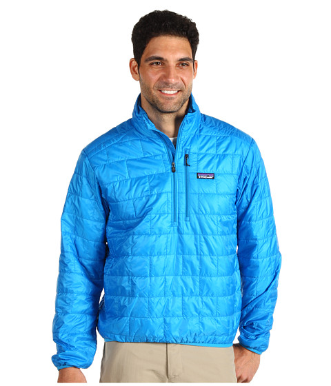 Jachete Patagonia - Nano Puff® Pullover - Larimar Blue