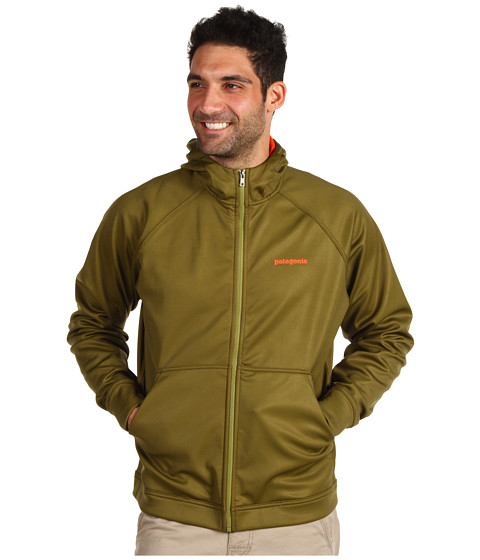 Bluze Patagonia - Slopestyle Hoodie - Clean Line/Tuscan Olive