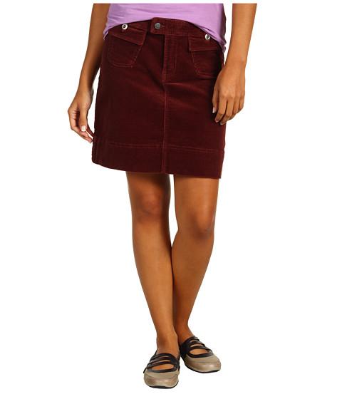 Fuste Patagonia - Corduroy Skirt - Dark Ruby