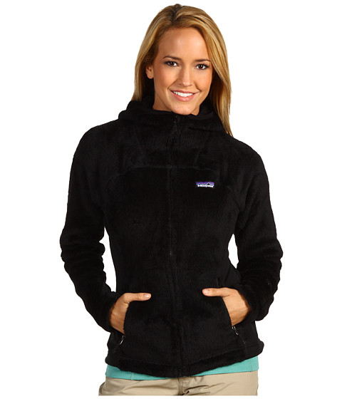 Bluze Patagonia - R3® Hi-Loft Hoodie - Black