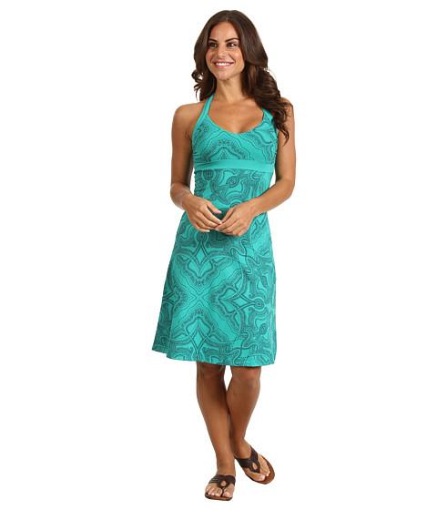 Rochii Patagonia - Iliana Halter Dress - Raja/Teal Green