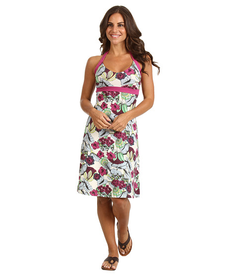 Rochii Patagonia - Iliana Halter Dress - Veronique/Rubellite Pink
