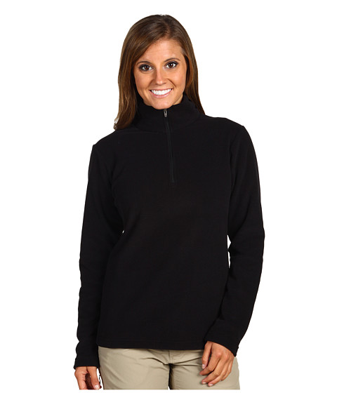 Bluze Patagonia - Micro D-Luxe 1/4 Zip Pullover - Black