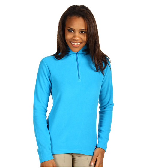 Bluze Patagonia - Micro D-Luxe 1/4 Zip Pullover - Larimar Blue