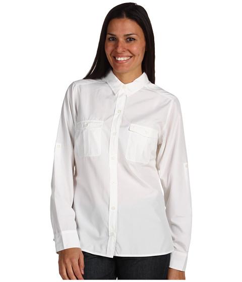 Camasi Patagonia - L/S La Reina Shirt - White