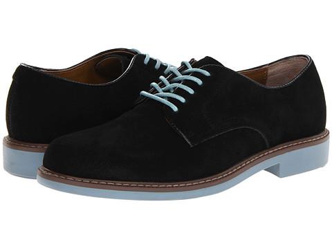 Pantofi Bass - Brockton - Black Suede/Blue Jean